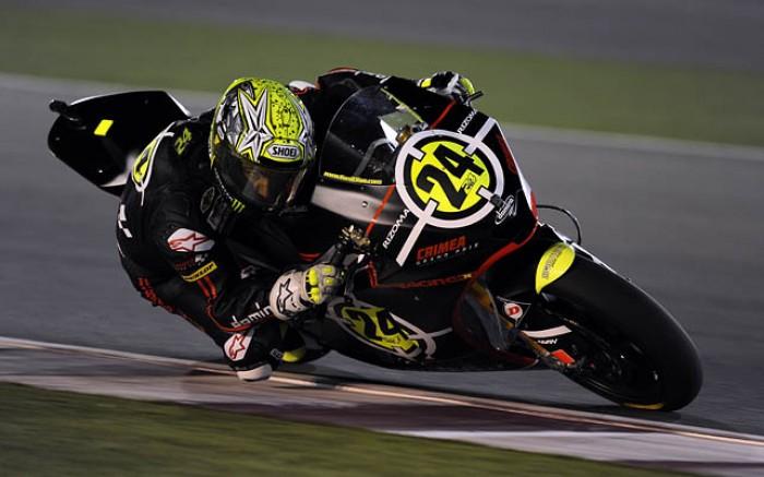 Toni Elias, qualifiche GP Qatar 2010 Moto 2