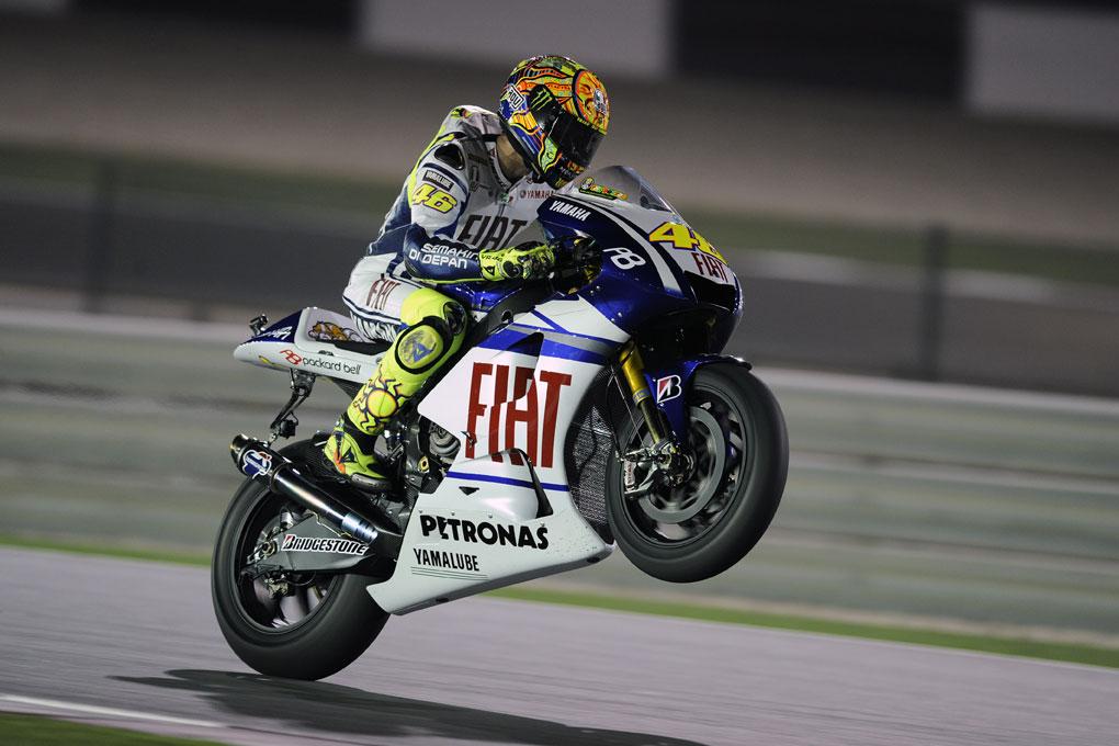 Valentino Rossi, GP del Qatar 2010