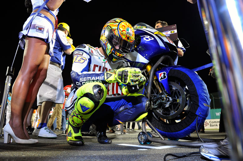 Fiat Yamaha Racing, Valentino Rossi