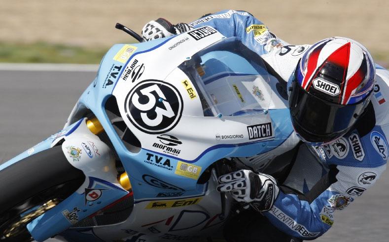 Valentin Debise, WTR San Marino Team Moto2 2010