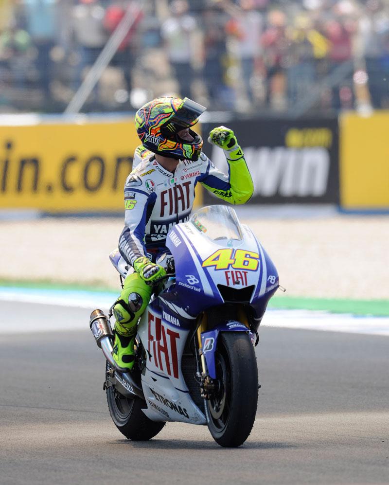 Valentino Rossi, MotoGP 2009 Jerez