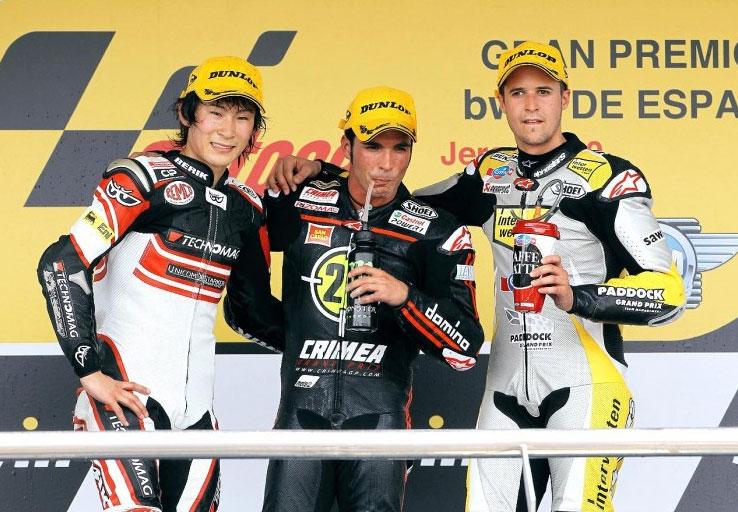 Toni Elias trionfa a Jerez