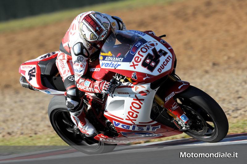 Michael Fabrizio, Superbike 2010 - Ducati Xerox