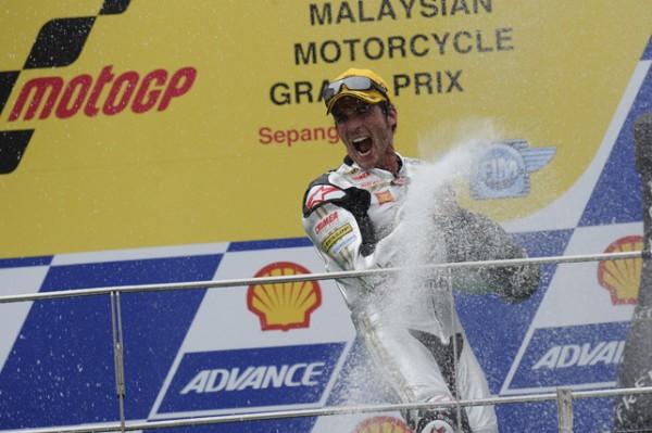 Toni Elias Campione del Mondo della Moto 2 - 2010