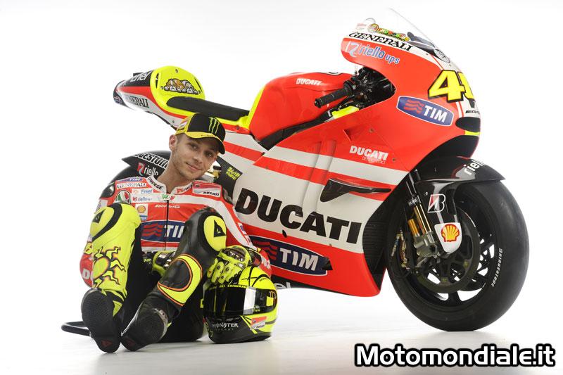 Valentino Rossi e la Ducati, insieme per la MotoGP 2011