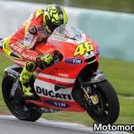 Valentino Rossi e la Ducati, stagione MotoGP 2011