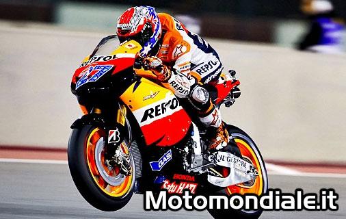 Casey Stoner - Repsol Honda Moto GP 2011, vince il GP del Qatar