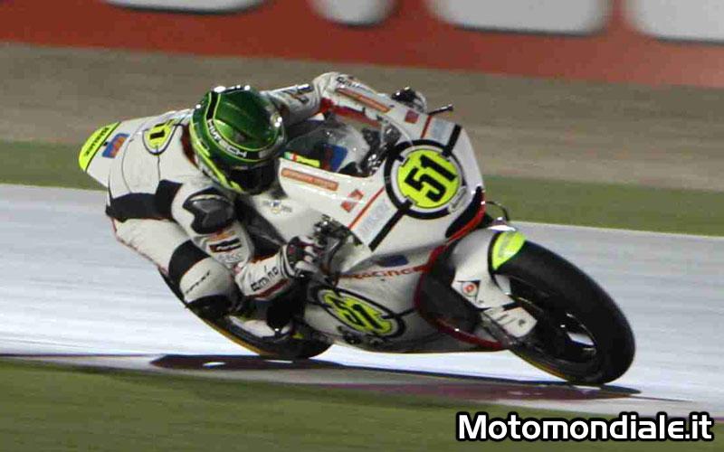 Michele Pirro - Team Gresini Moto 2, buon esordio per lui nel GP del Qatar