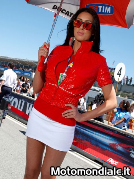La mora del paddock Ducati (Moto GP 2100, Laguna Seca)