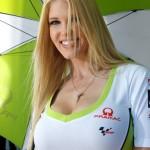 La bionda del team Pramac Racing (Moto GP 2100, Laguna Seca)