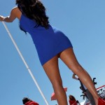 Una Red Bull Grid Girls (Moto GP 2100, Laguna Seca)
