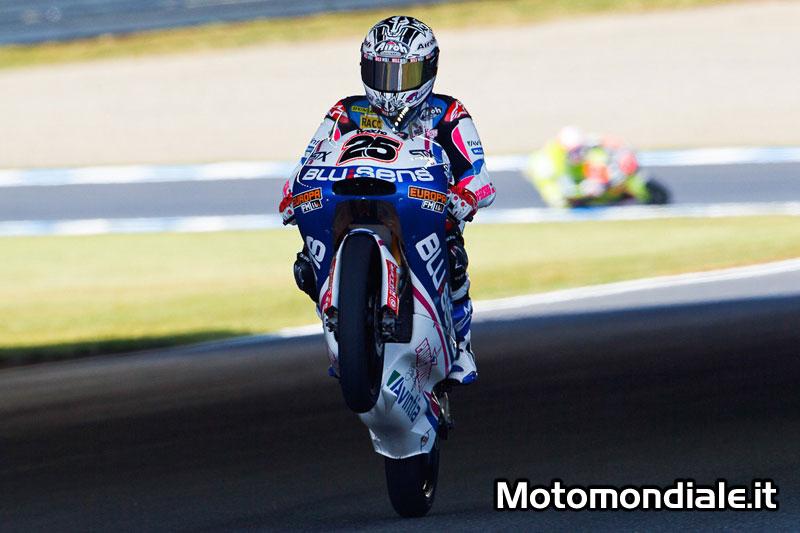 Maverick Viñales (Blusens by Paris Hilton Racing) si impone conquistando la leadership della prima giornata di libere a Motegi