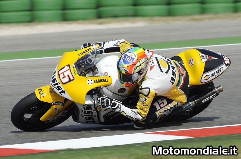 Alex De Angelis, JiR Moto 2, quarto posto per il pilota sammarinese