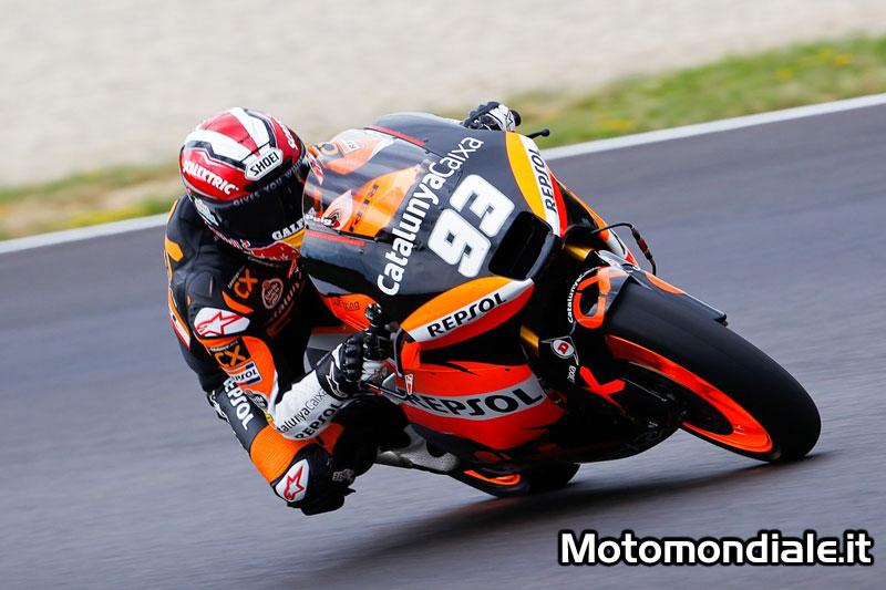 Marc Marquez (Moto 2 - 2011), ottiene la sua settima pole stagionale