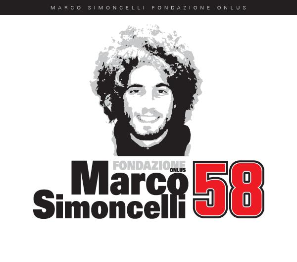 il logo della Marco Simoncelli Fondazione