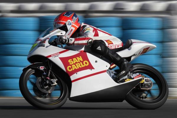 Niccolo Antonelli, team San Carlo Honda Gresini Moto 3