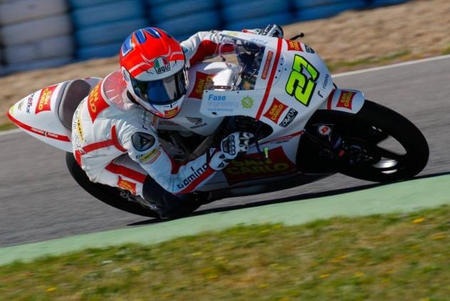 Niccolò Antonelli, pilota del Team Gresini Moto3