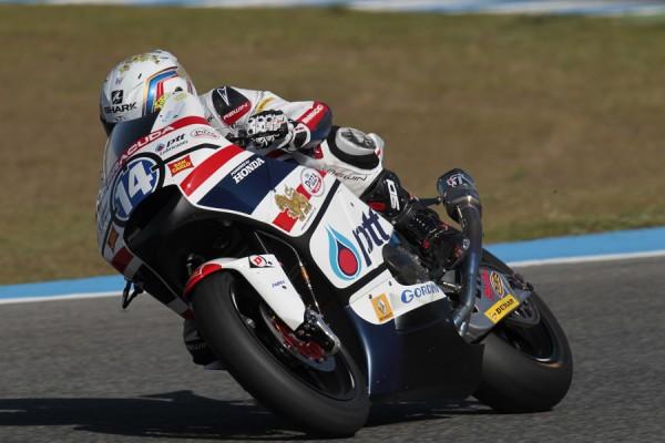 Rattapark Wilairot, pilota del Team Honda Gresini Moto 2