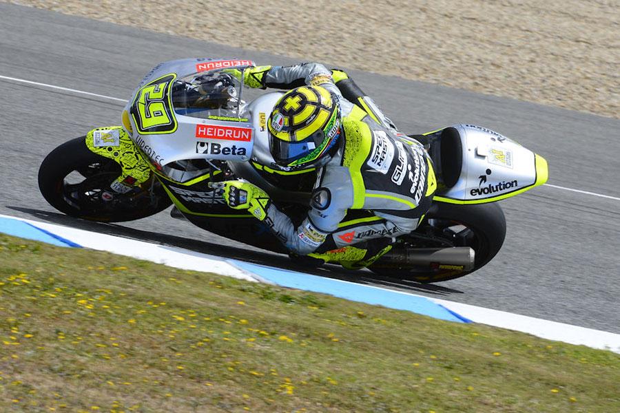 Week end difficile a Jerez per Andrea Iannone, del team Speed Master