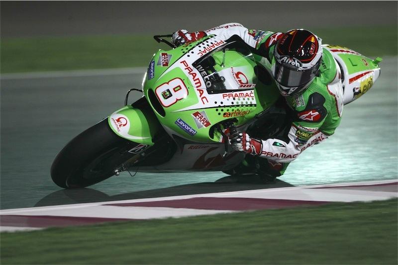 Hector Barberà, Ducati Pramac Racing, conclude con l'ottavo tempo le FP1 a Doha