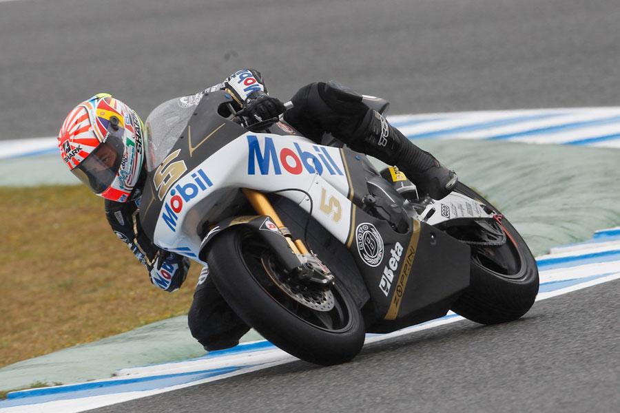 Johann Zarco, pilota del team JiR Racing Moto2