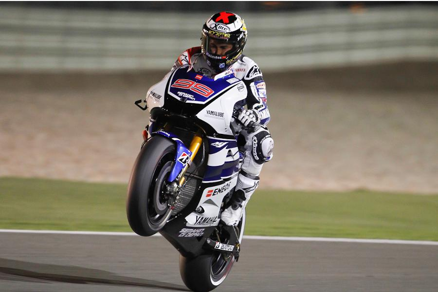 Jorge Lorenzo vince una gara straordinaria in Qatar