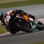 Michele Pirro, team San Carlo Honda Gresini, a Doha, GP del Qatar 2012