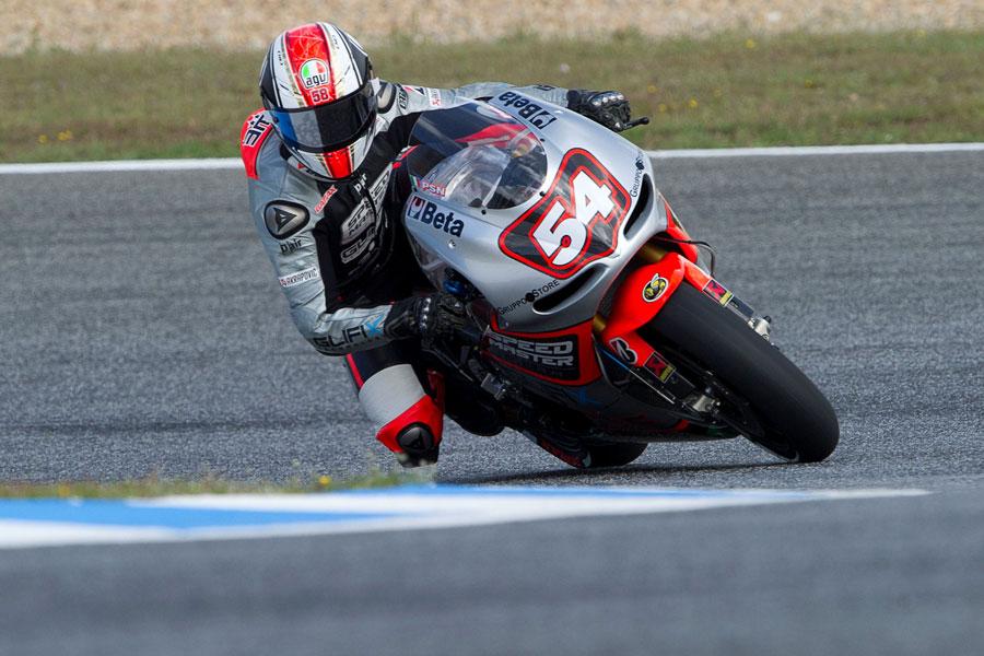 Mattia Pasini, pilota del team Speed Master (MotoGP)
