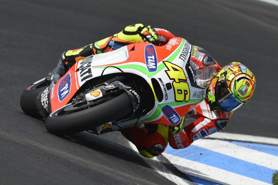 Valentino Rossi Si Ritira Dalla Motogp Ma Solo Per La