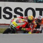 Valentino Rossi e Casey Stoner - Le Mans 2012