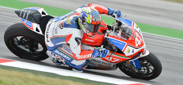 Eddi La Marra (Barni Racing Team Italia) - FIM Cup Superstock 1000 2012