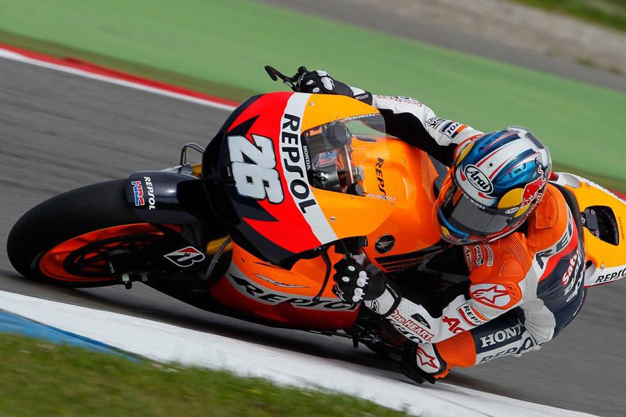 Dani Pedrosa (Repsol Honda), miglior tempo delle FP3 ad Assen - MotoGP 2012