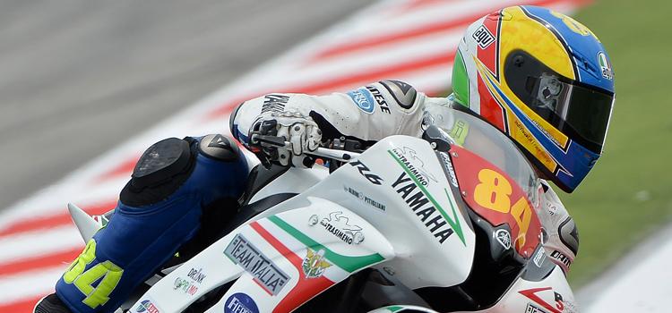 Riccardo Russo (Team Italia FMI) - Superstock 600 2012