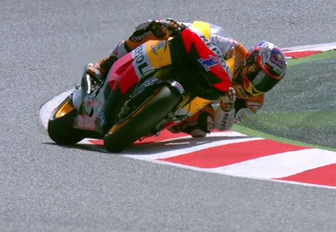 Stoner FP1 Catalunya 2012
