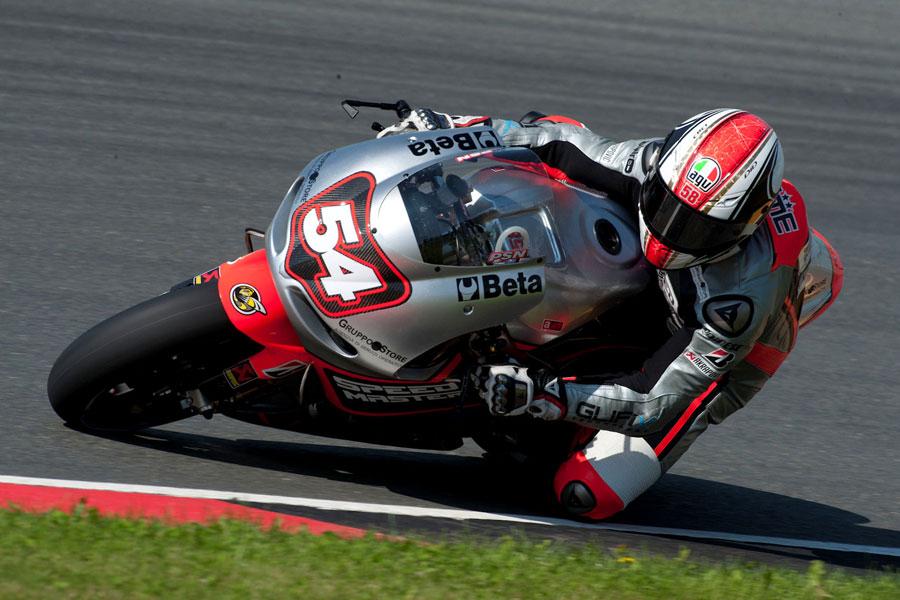Mattia Pasini (Speed Master), MotoGP 2012