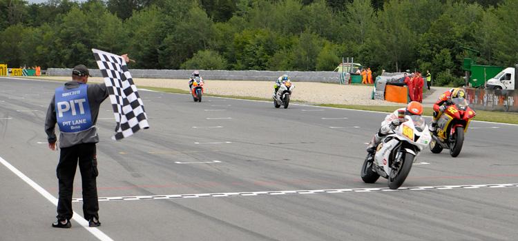 Michael van der Mark (EAB Ten Kate Junior Team Honda), vincitore a Brno - Superstock 600