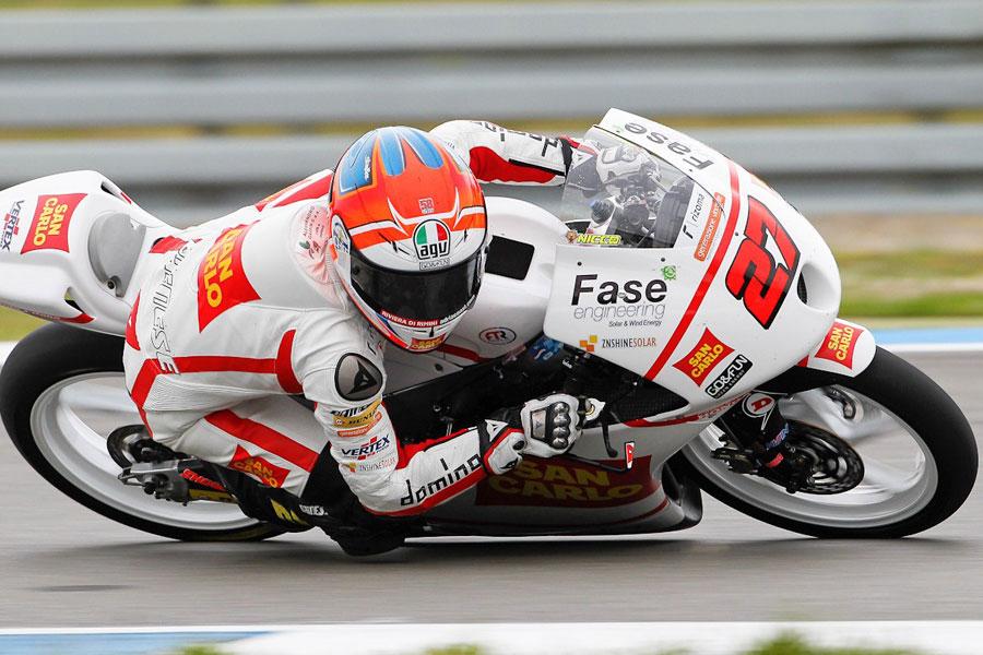 Niccolò Antonelli (Team Gresini Moto 3), stagione 2012