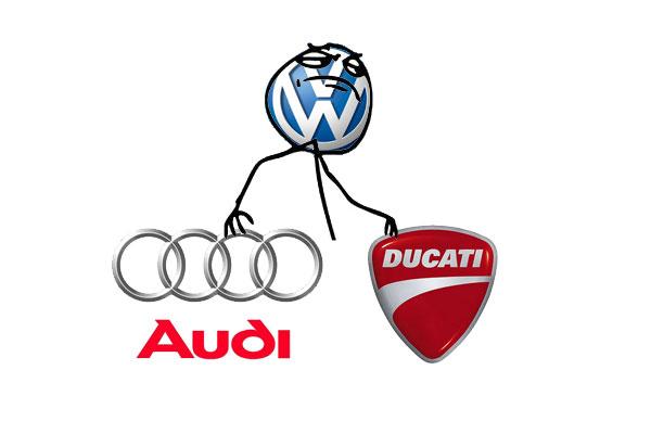 Volkswagen, Audi, Ducati
