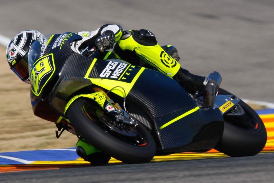 Andrea Iannone test 2012