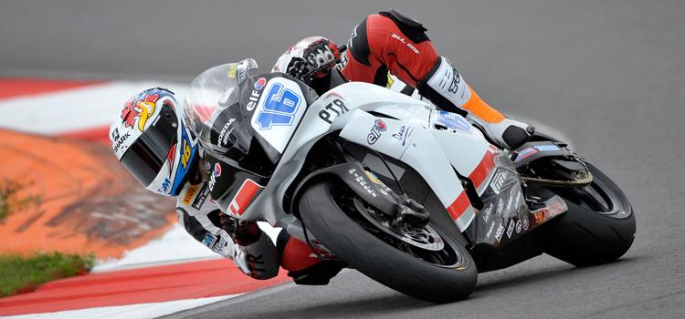 Jules Cluzel (PTR Honda), poleman a Mosca - Supersport 2012