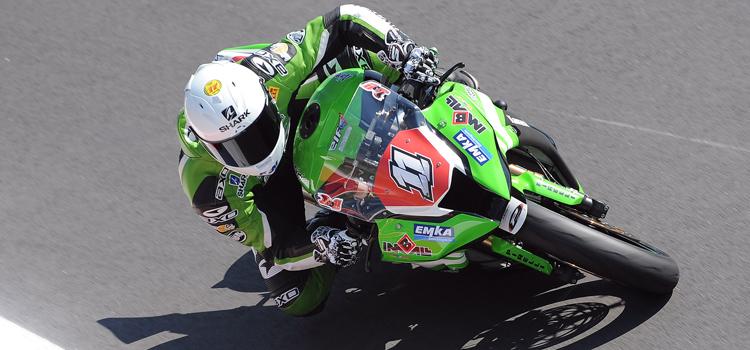 Jeremy Guarnoni (MRS) Kawasaki, Q1 Nurburgring - Superstock 1000 FIM Cup 2012