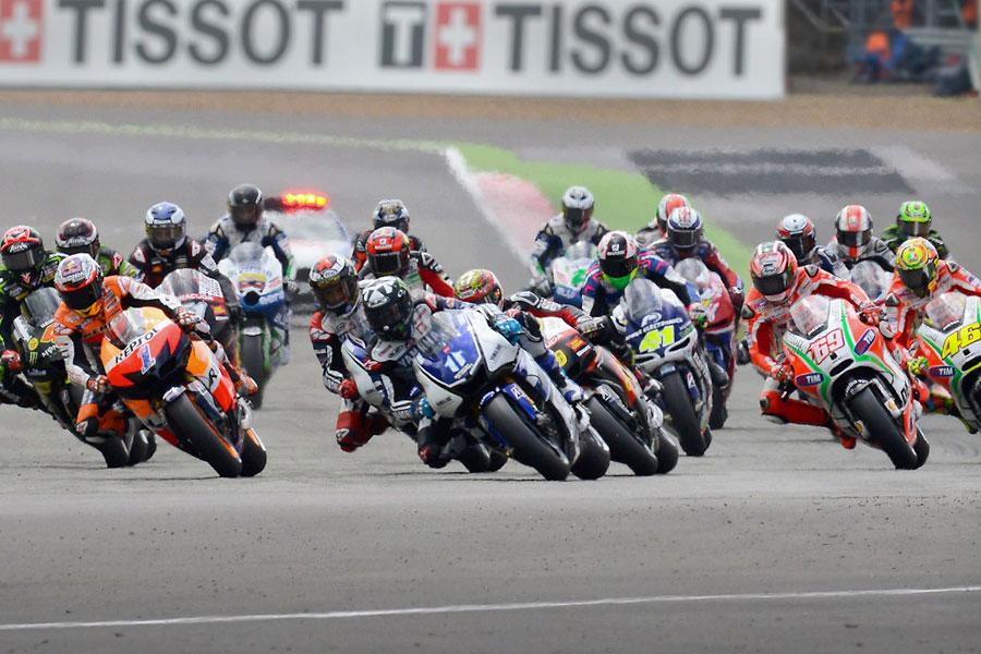 Piloti al via in MotoGP