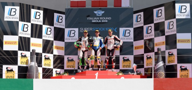 Superstock1000 Imola podio