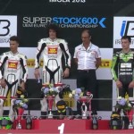 Superstock600 Imola podio