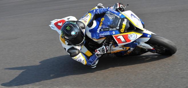 Sylvain Barrier pole al Nurburgring - Superstock1000 2013