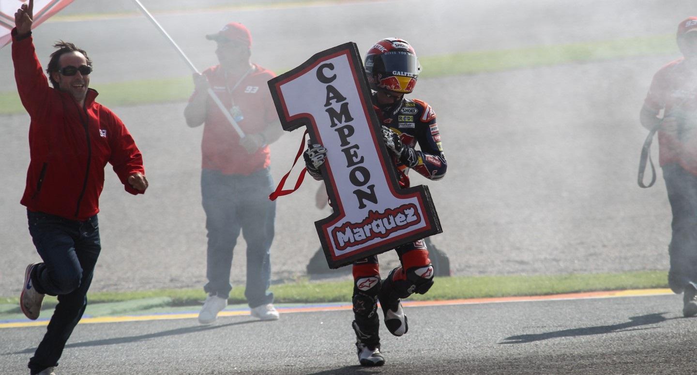 marquez win 2014 campione motogp