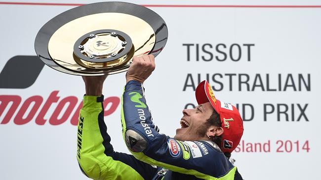 rossi australia motogp 2014