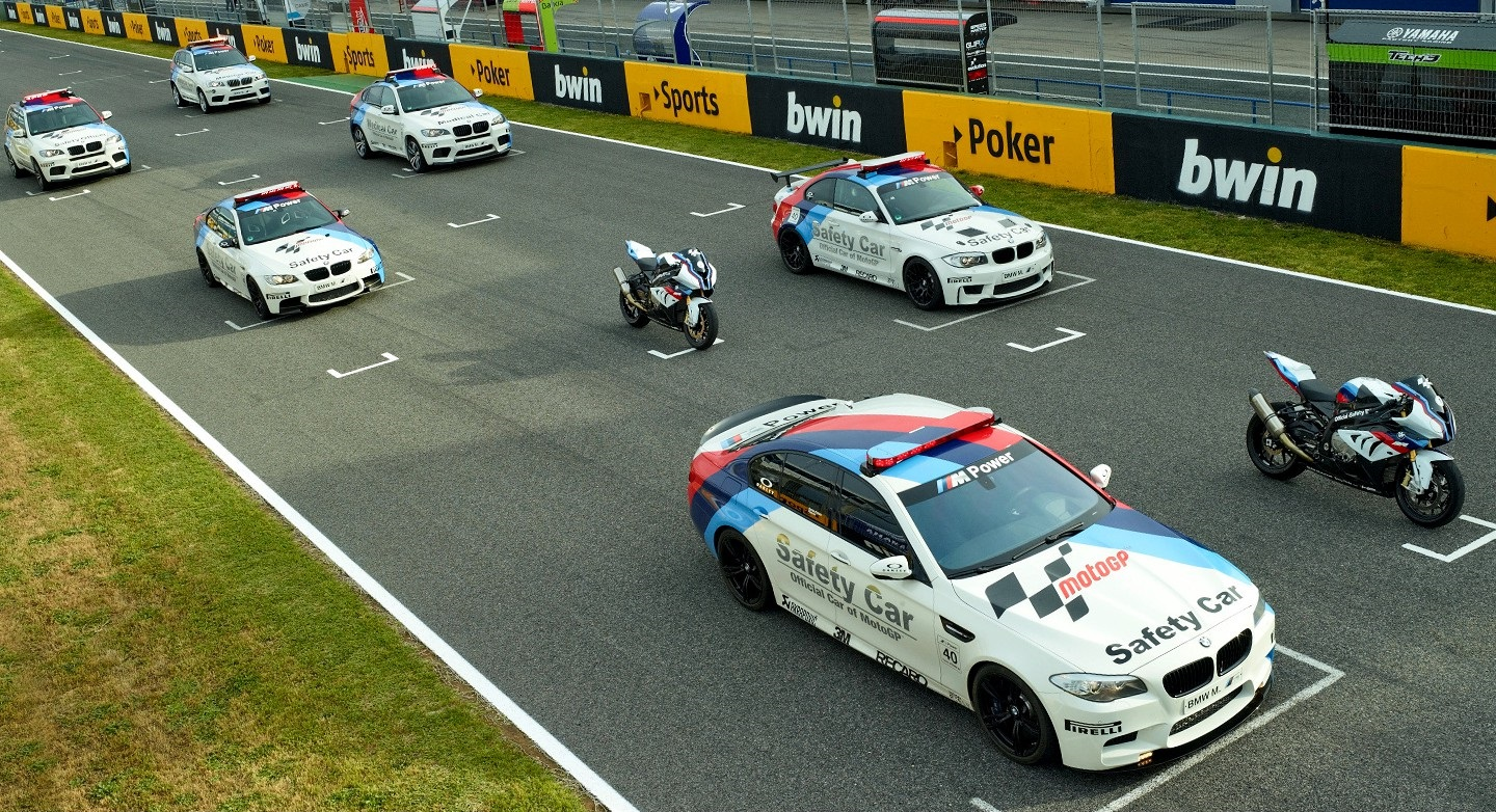 safety car bmw dorna