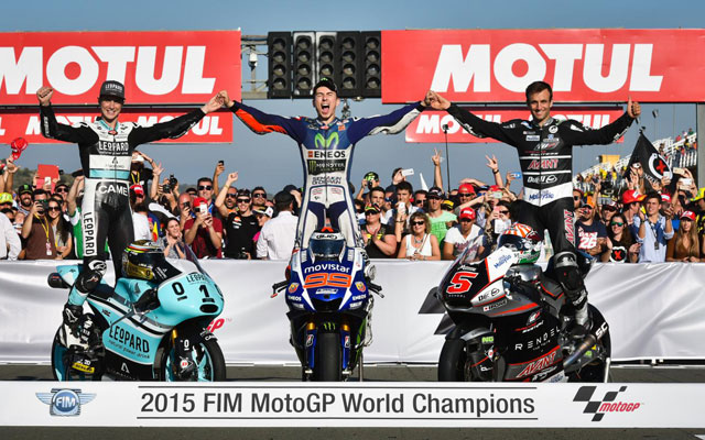 Jorge Lorenzo campione MotoGP 2015