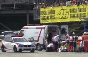incidente salom moto2